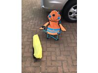 Kids camping chairs garden chairs