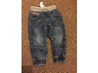 Next Boys lined jeans for sale