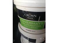 Crown obliterating magnolia trade paint