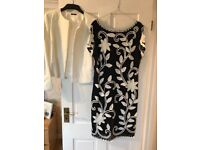 Wedding outfit navy & cream size 16