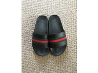 Gucci look sliders size 36 uk3