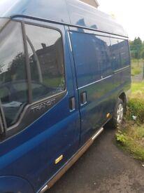 Ford transit semi high top van.. needs repair