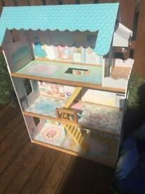 Tall dolls house
