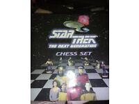 star trek next generation chess set