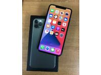Apple iPhone 11 Max 256gb unlocked Midnight Green mint condition