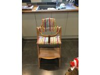 Stoke hair chair with cushion in very good condition and from a smoke free home.