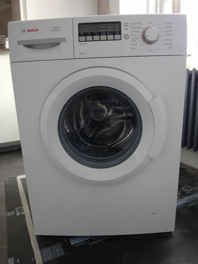 bosch maxx 6 varioperfect 1400 rpm washing machine in stockbridge edinburgh gumtree. Black Bedroom Furniture Sets. Home Design Ideas