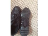 Pair of girls jazz shoes ballet shoes and tap shoes