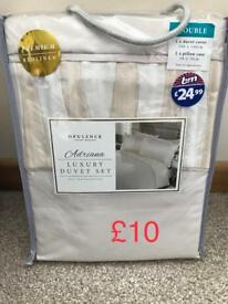 Double bedding set brand new