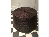 Like new HABITAT large rattan storage basket