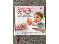 """Annabele karmel""""s complete baby and toddler meal planner book"""