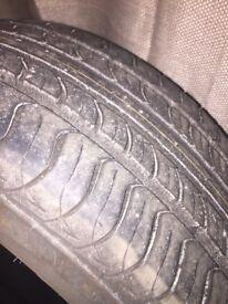 Part worn tyres 205/55/R16's