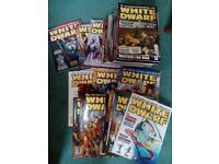 38 White Dwarf magazines from 2004 to 2009 inc issue 300 (from 296 to 355) - Warhammer/Warhammer 40k