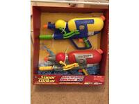 Brand new twin pack super soakers