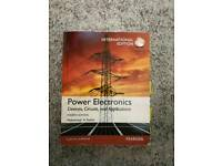 Power Electronics, devices, circuits and applications 4th edition