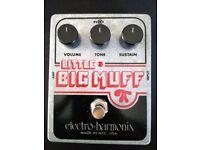 Electro Harmonix Little Big Muff Fuzz Pedal
