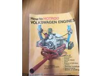 VW bettle camper engine tuning book