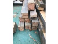 Treated timber 4 x 4 assorted lengths £5 each