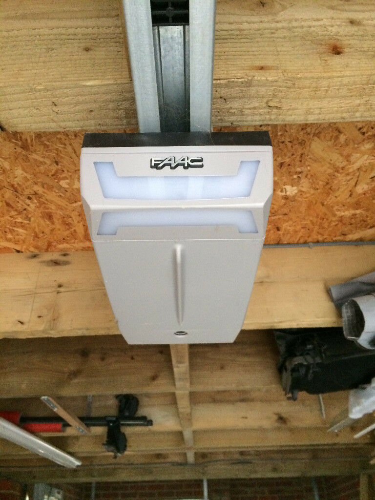 Faac Electric Garage Door Opener With Remote In Kingswood Tadworth