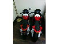 X2 BMW motobikes very good condition