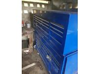 """53"""" snap on tool box roll cab open to swaps and offers"""