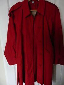 Vintage Ladies Aquabury Mac Coat