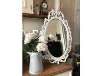 Wooden ornate mirror 💕