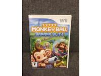 Nintendo Super Monkey Ball Banana Blitz retro video game Nintendo Wii