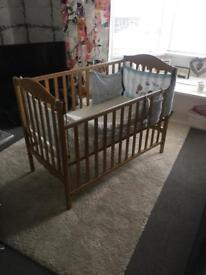 Mama's and Papa's Cot - Excellent Condition