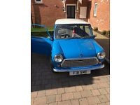 Austin Mini Mayfair Blue