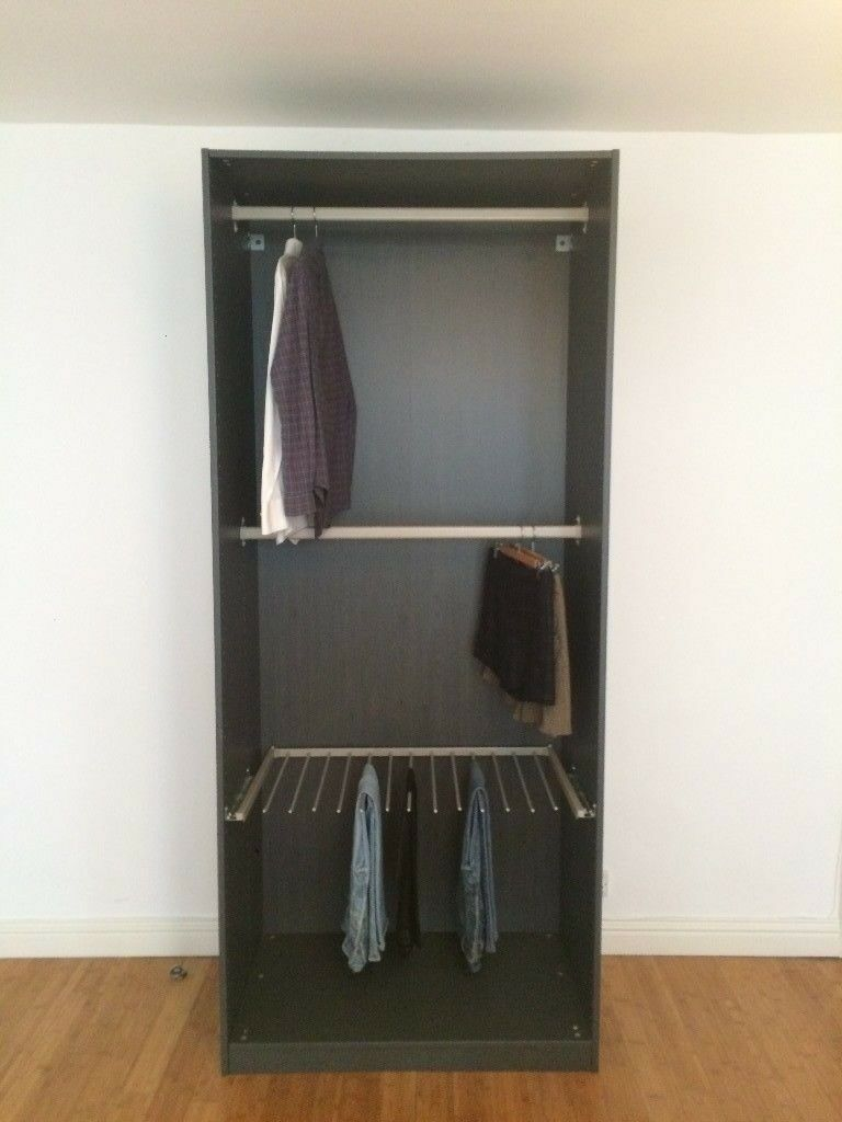 ikea open wardrobe in kensington london gumtree. Black Bedroom Furniture Sets. Home Design Ideas