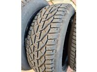 Car Winter Tyres 215 55 R16 Barely Used