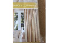 Napoli lined curtains. Two pairs.