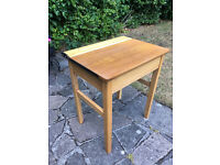 Old School Desk with stool