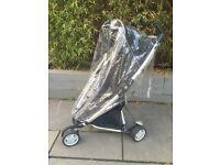 Quinny Zapp Pushchair + raincover + basket + car seat adaptors