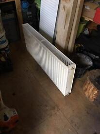 Double radiator 500 x 1200