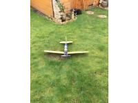 Radio controlled rc plane small one