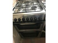 50CM STAINLESS STEEL INDESIT GAS COOKER (MIRROR)