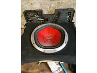 Sony explode subwoofer. Good condition