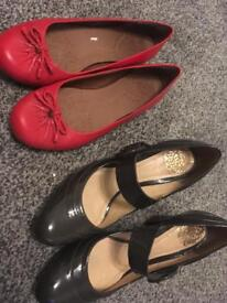 Clark's shoes size 5 and size 5.5