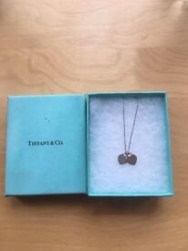 Tiffany & Co Double Heart Necklace