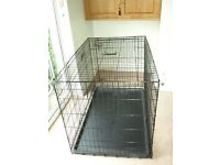Extra Large Dog Crate, Perfect Condition.