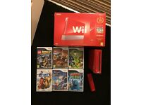 Limited edition red wii console bundle