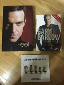 A Band Called Take That Book Feel Robbie Williams Hardback Gary Barlow My Take Paperback Books