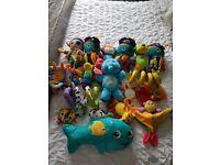 Lamaze, little tikes, nuby baby toys
