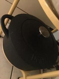Denby cast iron casserole pot