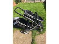 Pushchair Duellette BS twin pushchair good condition