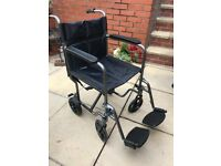 Barely used wheelchair