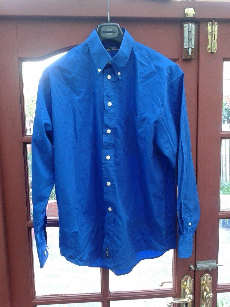 Ben Sherman blue shirt size largein Hull, East YorkshireGumtree - Ben Sherman blue shirt size large excellent condition collection from North Hull HU6 9JG or Ferensway