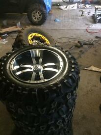 "14"" Alloy wheels quad bike buggy etc"